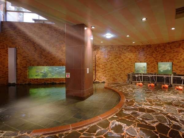 魚や亀が待っている♪水族館大浴場『龍宮』。。。珍百景に認定された珍しい温泉です★