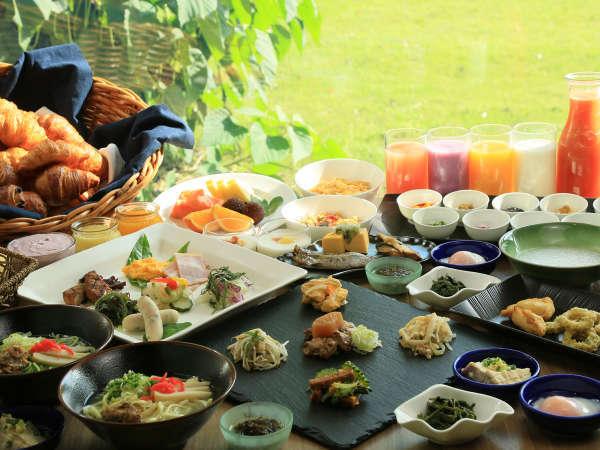 【朝食イメージ】島素材あふれる朝ごはん