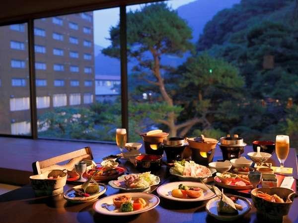 四季彩り 秋田づくし 湯瀬ホテル