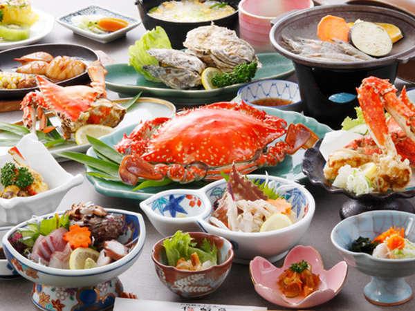 【たら竹崎温泉  竹崎観光ホテル 梅崎亭】漁師直送♪獲れたての「竹崎カニ」と「牡蠣」が自慢の温泉宿
