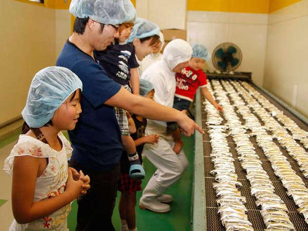 【ホテルにあるお菓子工場】お菓子工場見学。お菓子屋が運営するホテルだからこそできる思い出つくり