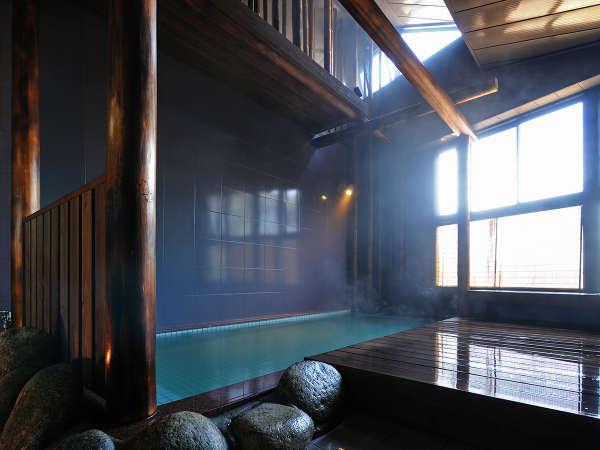 【大浴場 女湯】大浴場では広い湯船でゆったりと温泉をお楽しみください。