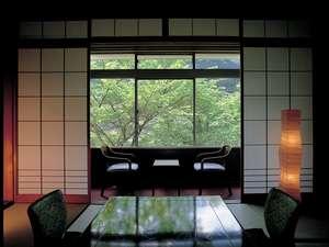 【呂尚館】新緑の季節には、窓から鮮やかや緑に心癒される