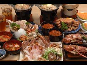 日本人の心の料理「しゃぶしゃぶ」でタラバとズワイを提供。オーナーシェフ大好きな食材をふんだんに用意