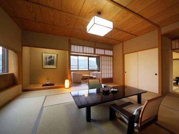 【東館特別室】421号室「山吹」和室13畳+次の間8畳の優雅な空間