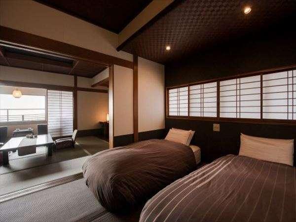【ベッド付き和風客室~曙~】贅沢な時を演出する客室