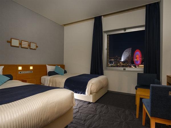海側スーペリアツインルーム(客室一例)