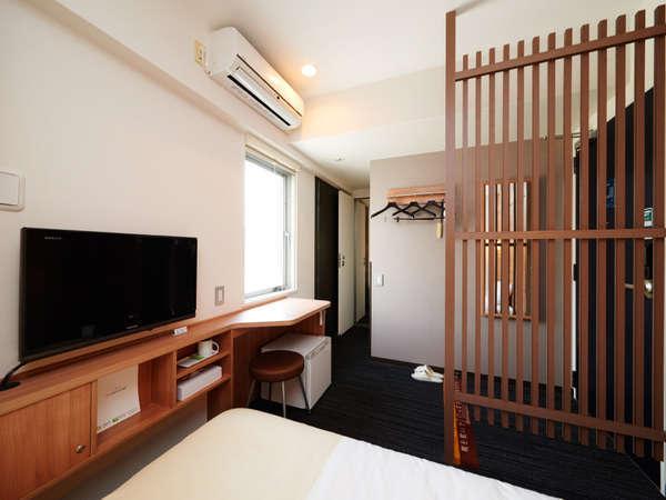コネクティングルームは最大4名様まで宿泊可能