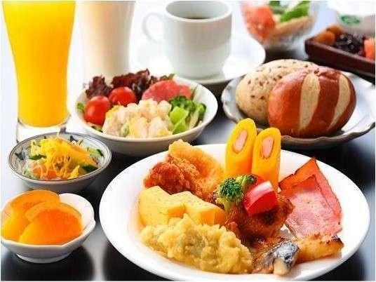 和洋バイキング朝食無料<30種類以上の和洋ブッフェスタイル>【営業時間6:30~9:00】