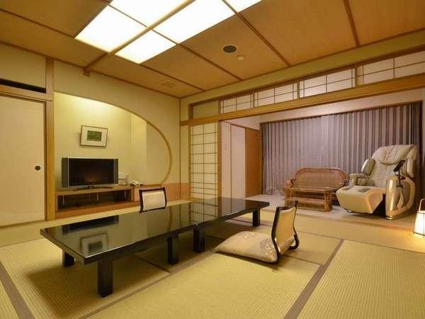 【本館 露天風呂付和室 12.5畳タイプ】和室一間で落ち着くと人気の露天付き客室です