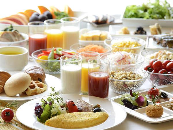 【朝食ブッフェ】(6:30~10:00※9:30最終入場)50種類以上のコンチネンタルブッフェ