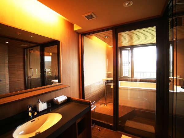 【和みフロア】展望檜風呂付特別室~展望檜風呂