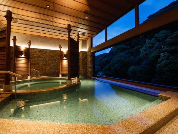 森のSPA「響-HIBIKI-」2020年7月リニューアル~肩までゆったり浸かる深湯を設けた温泉大浴場