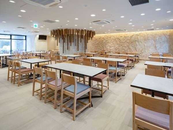 【レストラン】パリのデザインアワードで入賞した、こだわりの施設の創りもお楽しみください。