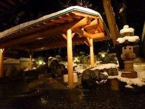 美味しいお料理と雪見の無料貸切露天風呂でほっこり.. ちょっと贅沢な気分に浸れる冬の旅