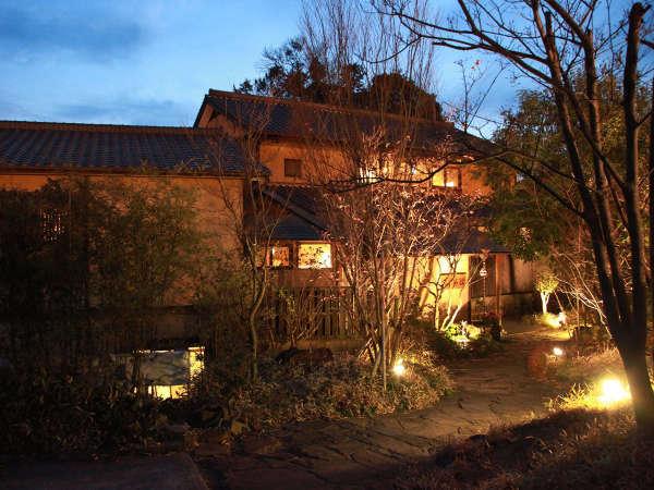 夜の平山旅館