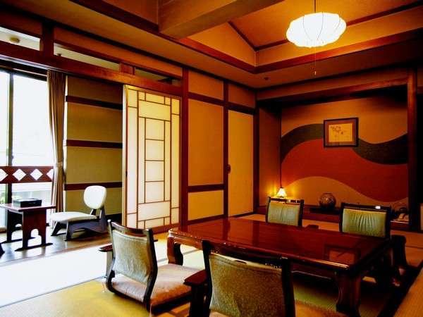 本館のレトロ調の和室一例(お部屋のご指定はご希望に添えない場合がございます)