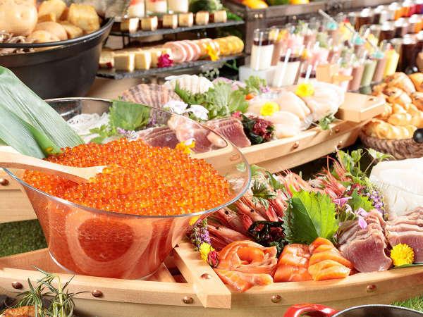 【朝食】北海道自慢の海鮮をぜひご堪能ください。