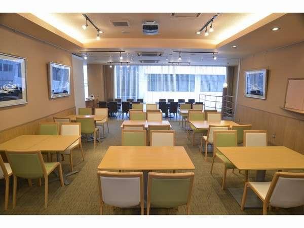 朝食会場はこちらです。朝7:00~10:00まで。