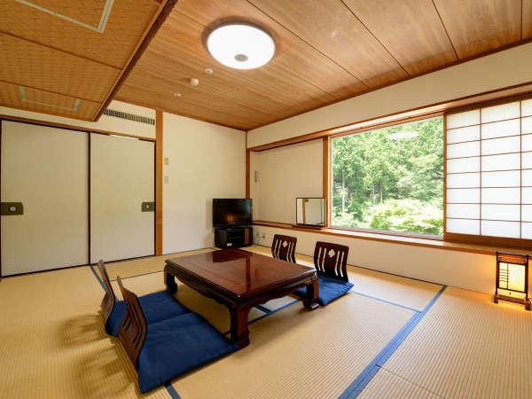 *【和室10畳】温泉といったら和室で大の字!静かで心地いい休日