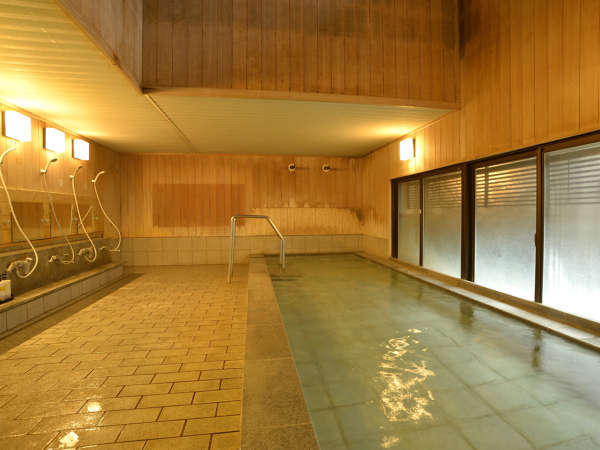 【温泉】内湯は24時間入浴OK!お好きな時にどうぞ♪