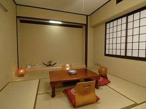 井草が香る和室で心休まる・・・