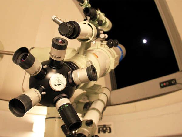 『天体望遠鏡観察会』 ※画像はお月さま