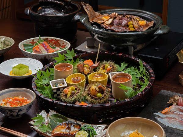 萃の膳◆職人が手間暇かけたお食事をお楽しみください<秋のお料理>