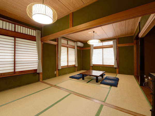 *部屋(和室12畳)/畳でのんびり足を伸ばしたい方におすすめ。