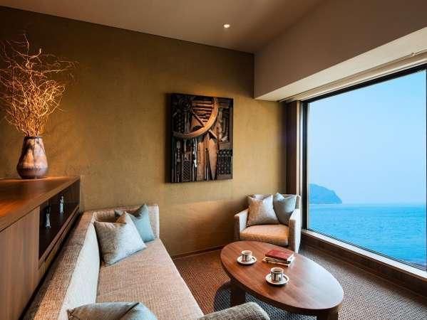 【客室イメージ】大きな窓からは広大な太平洋を一望することができます