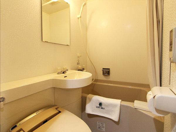 【バスルーム】ユニットバス 全室ウォシュレット付きトイレ