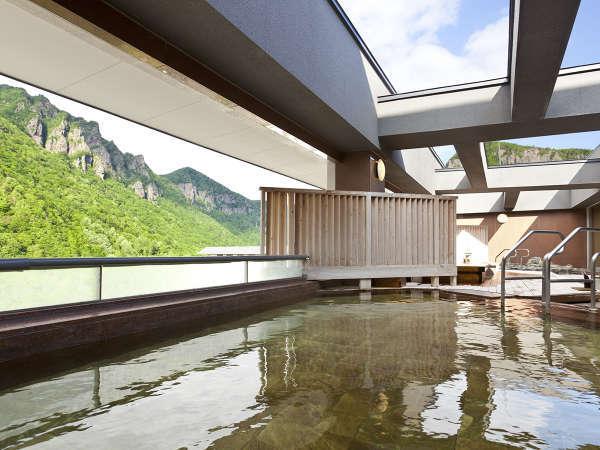 【天空露天 朝陽山】雄大な景色を見ながら露天風呂を堪能