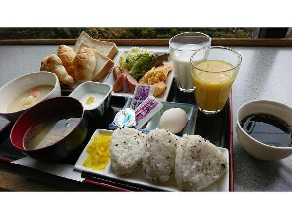 日替わり朝食の写真です★金曜日(バイキング方式でご用意しています)★盛付写真はイメージです