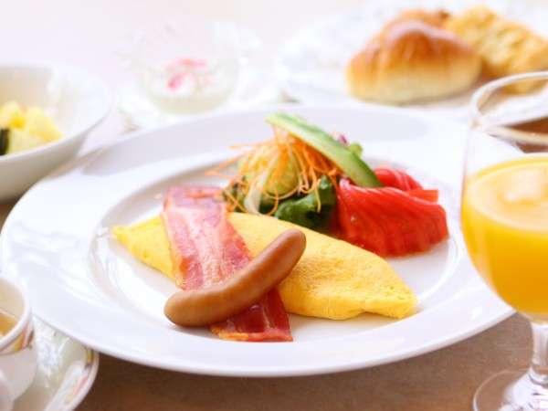 【千産千消】の自慢の朝食をどうぞ!!