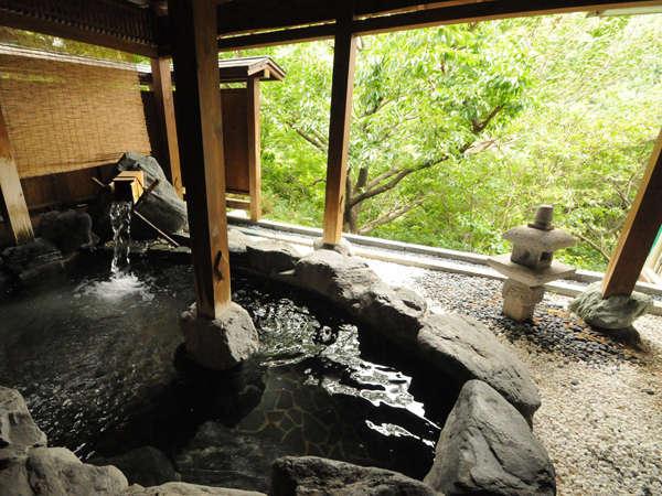 展望大浴場(やま津みの湯)の露天風呂