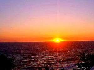 晴れた日には佐渡島が見渡せます。