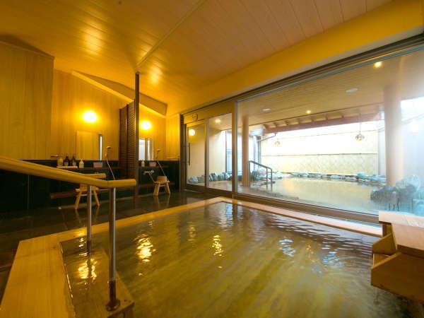 【女性用大浴場】「清左衛門の湯」源泉は古屋旅館の独占使用です。適度に成分が濃い優れた泉質です。