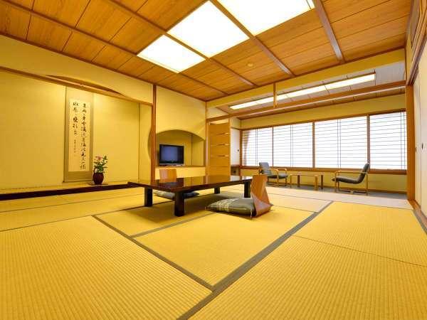 *12.5畳スタンダード客室。部屋付でなくとも温泉は露天風呂・大浴場があれば十分!というお客様はこちら