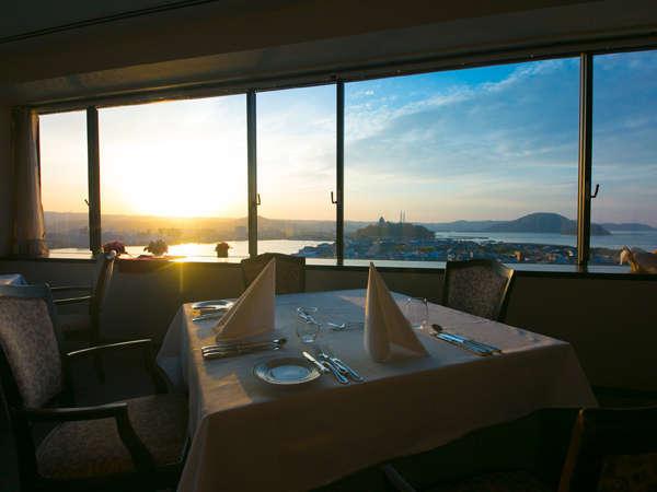 【スカイレストラン キャッスルビュー】山・川・海の大パノラマをお楽しみください☆