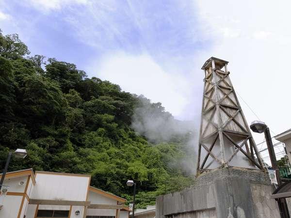 ◆玉翠館1号浜田源泉泉質:ナトリウム-塩化物・硫酸塩温泉。泉温:100℃。湧出量 213L/分