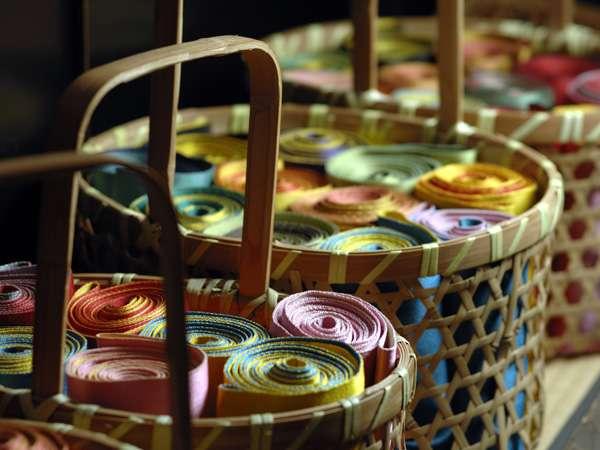 ◆女性のお客様には「色浴衣」をサービス♪帯もお選びいただけます!