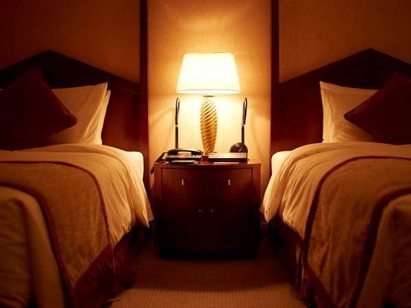 特別階インペリアルフロアには帝国ホテルオリジナル寝具をご用意しております。