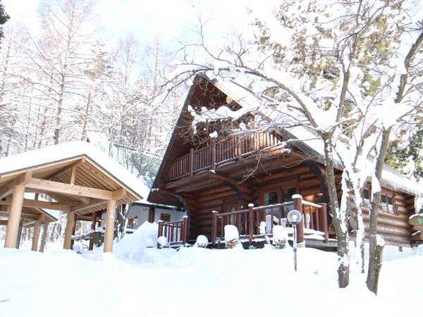 会津磐梯山麓の貸別荘&コテージはスキーやスノボ旅行でみんなでワイワイ【しゃくなげ13号館】