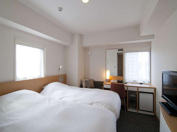 【ツインルーム】ベッド幅100cm×2~ハリウッドタイプ~ご家族での宿泊に最適です