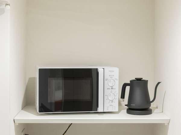 電子レンジ&電気ケトル Microwave Electic Kettle01
