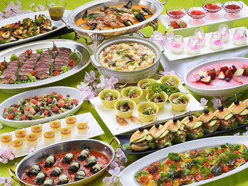 【春夕食】スプリングディナービュッフェ