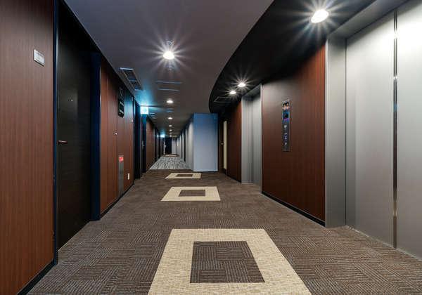 エグゼクティブフロアエレベーターホール