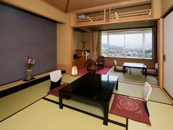 【広さもたっぷり!】12~15畳もの広さのお部屋はエリア内でもトップクラス
