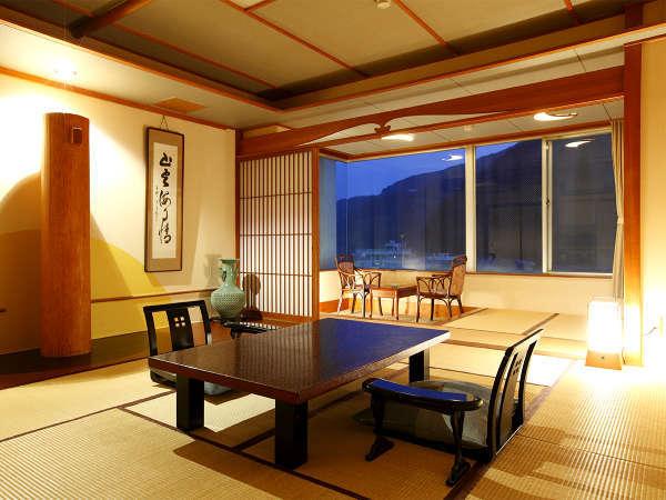 【客室】和室10畳+広縁(一例)