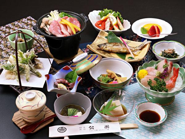 ◆【和牛陶板焼き】国産黒毛和牛の旨みを、熱々の陶板で香りと共にお楽しみください。